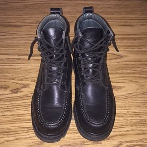 Men's thick work boots